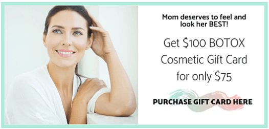 Botox Mother's Day Offer