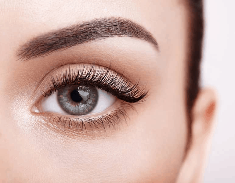 perfect lashes with Lash Lift & Tint at lux med spa atlanta georgia GA non surgical