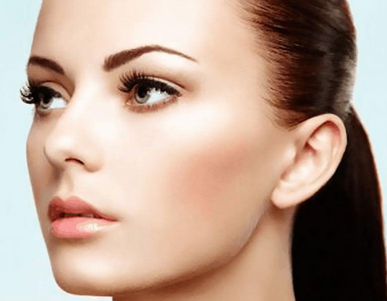 Microblading at lux med spa atlanta georgia GA non surgical perfect eyebrows